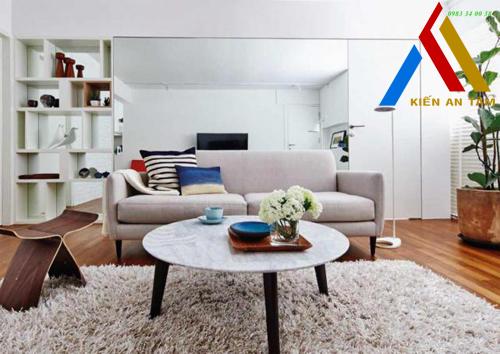 Bí quyết giúp căn hộ nhỏ trở nên rộng và sang trọng
