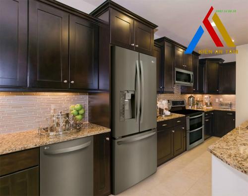 Những gian bếp hiện đại và tiện ích